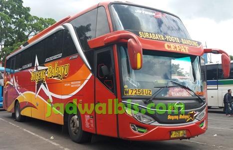 jadwal dan tarif bus dari bandung cicaheum ke yogyakarta rh m jadwalbis com